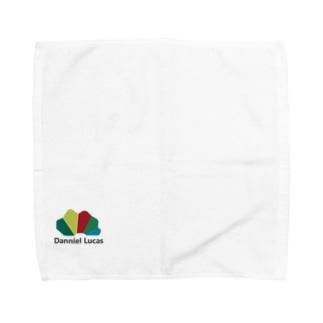 ダニエルルーカスロゴ Towel handkerchiefs
