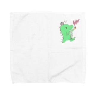 恐竜のきぃくん Towel handkerchiefs