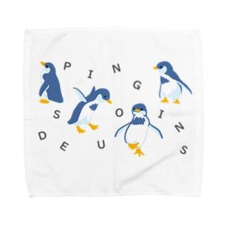 Des Pingouins~ペンギン達~ Towel handkerchiefs