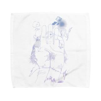 生命戦、幕開けだ。 Towel handkerchiefs