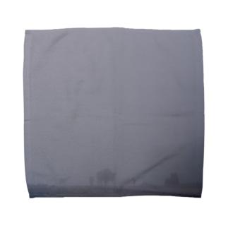 Fog and animals Towel handkerchiefs