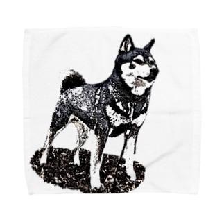 凛と (背景なし) Towel handkerchiefs
