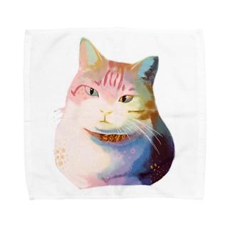 kiyoraのうちのネコ Towel Handkerchief