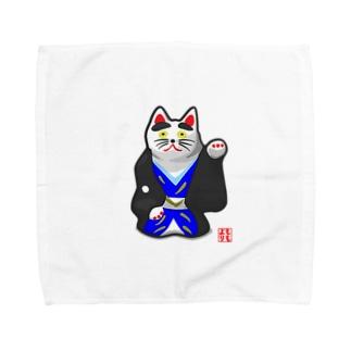 初辰猫 Towel handkerchiefs