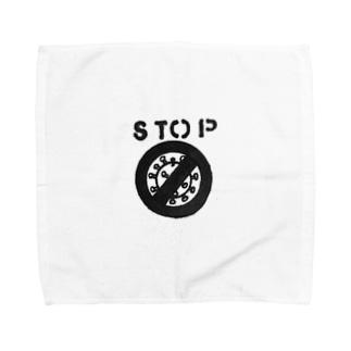 ストップ❕コロナ Towel handkerchiefs