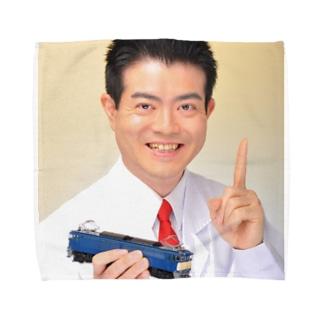 鉄道博士 / Dr.Railway Towel handkerchiefs