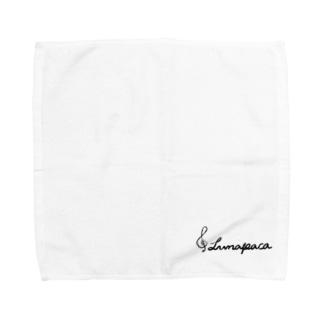 るなぱかさんのるなぱかサイン Towel handkerchiefs