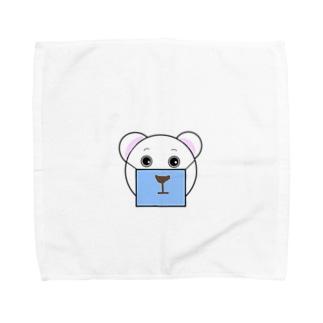 くますく Towel handkerchiefs