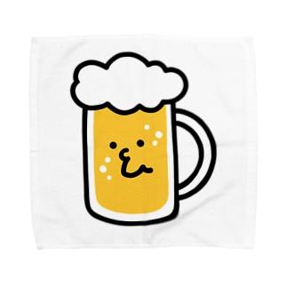 やさしいビールくん Towel handkerchiefs