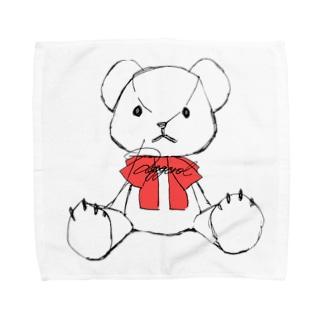 くま(しろ)🧸 Towel handkerchiefs