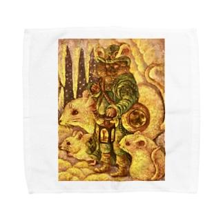 冬の旅 Towel handkerchiefs
