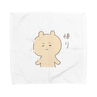 悟りの境地 Towel handkerchiefs