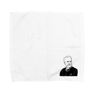 チャイコフスキー先生 Towel handkerchiefs