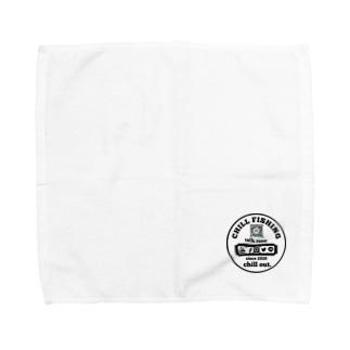 chill  fishing Towel handkerchiefs