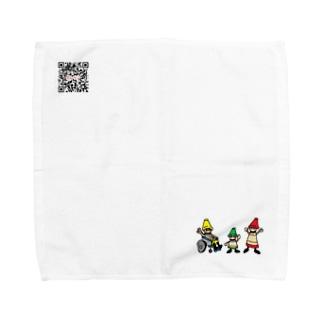 【New!】クレリンタオルハンカチ Towel handkerchiefs