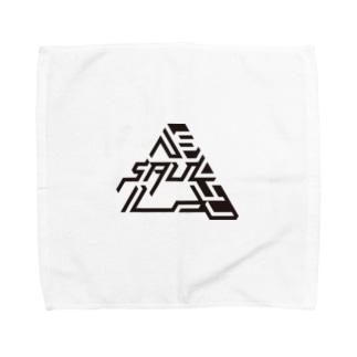 SAUL kuro Towel handkerchiefs