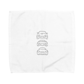 A.B.C  K-car Towel handkerchiefs