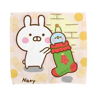 クリスマスを待ちきれないぺんぺん Towel handkerchiefs