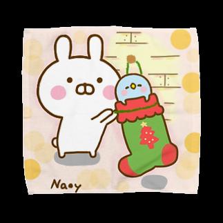 Naoyのクリスマスを待ちきれないぺんぺん Towel handkerchiefs
