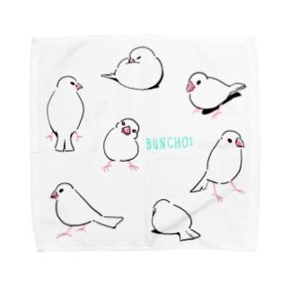 ぶんちょ! Towel handkerchiefs