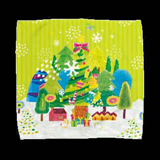 引野 裕詞のchiristmas tree Towel handkerchiefs