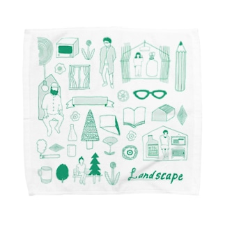life landscape Towel handkerchiefs