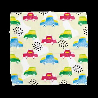 引野 裕詞のchild car Towel handkerchiefs