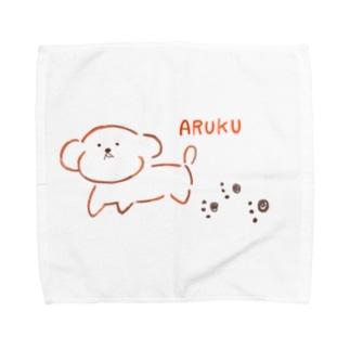 歩くチャコ🐾 Towel handkerchiefs