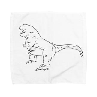T-Rexのタオルハンカチーフ Towel handkerchiefs