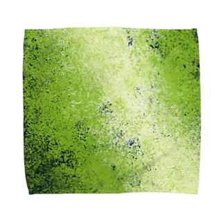 リトルグリーンメン Towel handkerchiefs