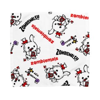 ゾンビマルズ Towel handkerchiefs