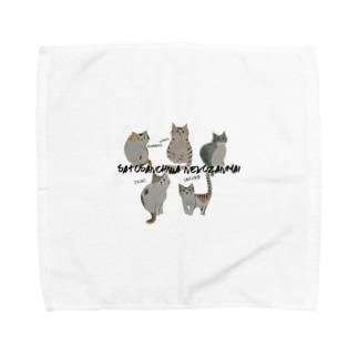 オールスターズ2〜佐藤さんちは猫ざんまい〜 Towel handkerchiefs