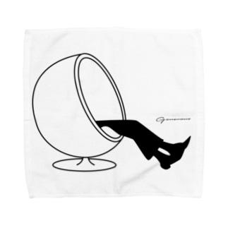 ボールチェア Towel handkerchiefs