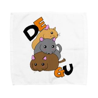 デグー1 Towel handkerchiefs