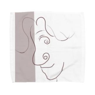 おはな Towel handkerchiefs
