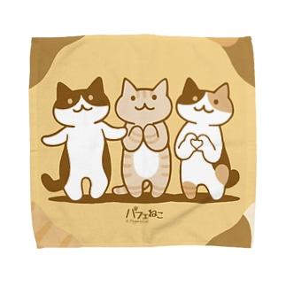 癒してあげ隊ハンカチ Towel handkerchiefs