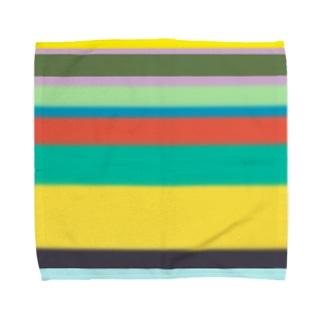 情報量の多いカステラ Towel handkerchiefs