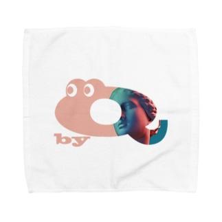 キューくんVaporwave  Towel Handkerchief