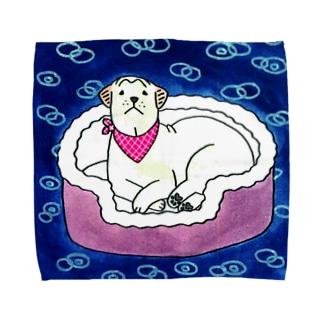 ロダンのココロ 雨 Towel handkerchiefs