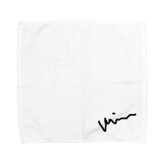 みーぬのサイン Towel handkerchiefs