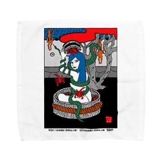 蛇蠍 Towel handkerchiefs