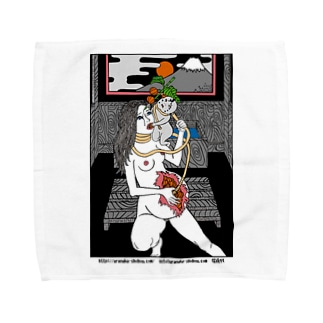 腹輝血 Towel handkerchiefs