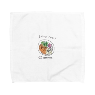 スパイスカレー Towel handkerchiefs