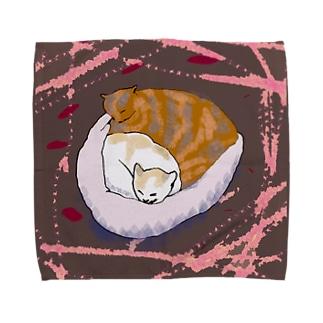 hot cats タオルハンカチ