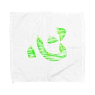 kanji 心 Towel handkerchiefs