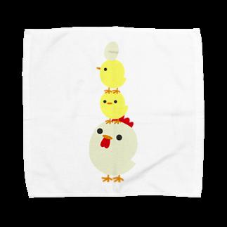 tagmirageのとり Towel handkerchiefs
