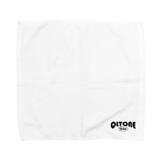 QLTONE10周年記念グッズ特設ページの10周年ロゴ Towel handkerchiefs