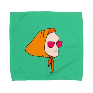 真知子巻き Towel handkerchiefs