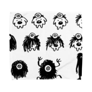 コロボー進化論 Towel handkerchiefs