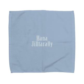 鼻汁たらり(青っぱなロゴ) Towel handkerchiefs
